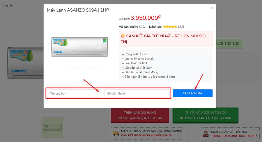 cách mua hàng trên web