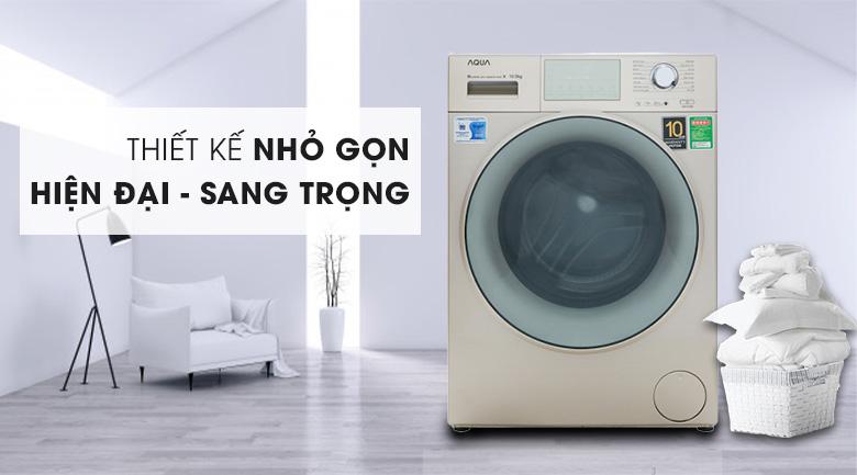 Máy giặt Aqua Inverter 10.5 kgAQD-D1050E.N- thiết kế