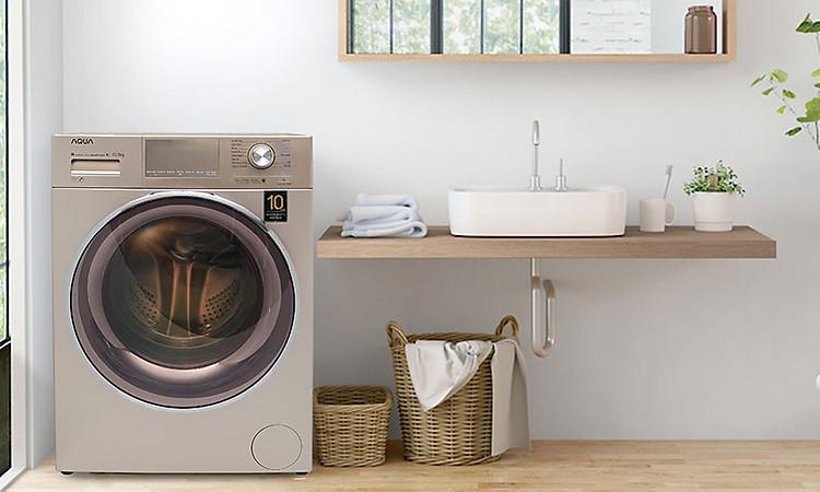 Máy giặt Aqua Inverter 8.5 KgAQD-DD850E.N - thiết kế