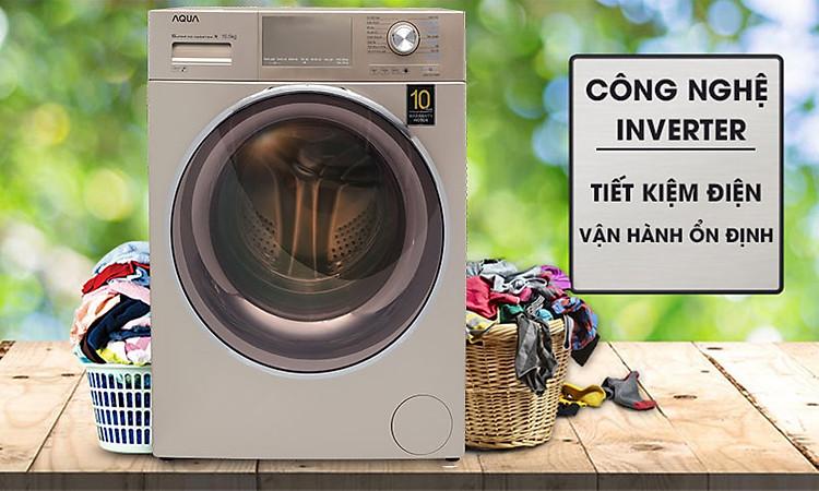 Máy giặt Aqua Inverter 8.5 KgAQD-DD850E.N - công nghệ inverter