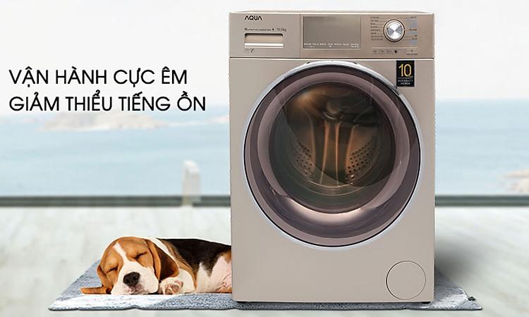Máy giặt Aqua Inverter 8.5 KgAQD-DD850E.N - vận hành cực êm