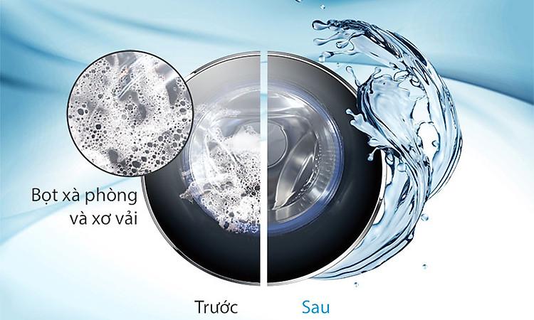 Máy giặt Aqua Inverter 8.5 KgAQD-DD850E.N - smart dual spray