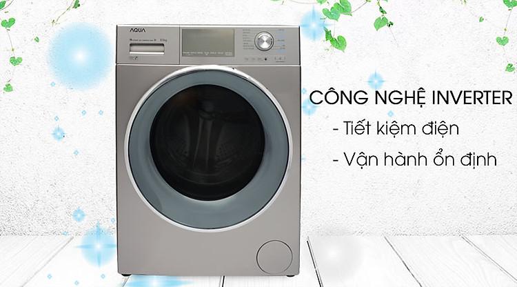 Máy giặt Aqua Inverter 9.5 kgAQD-DD950E.N Inverter