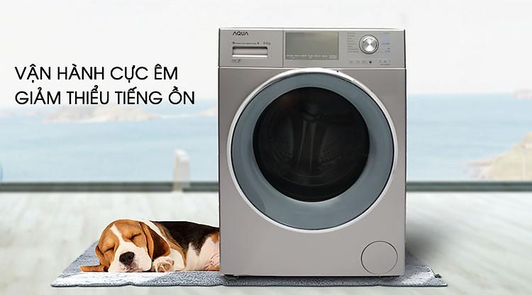 Máy giặt Aqua Inverter 9.5 kgAQD-DD950E.N giảm tiếng ồn