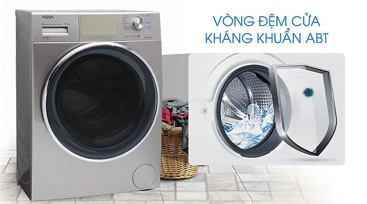Máy giặt Aqua Inverter 9.5 kgAQD-DD950E.N vòng đệm cửa ABT