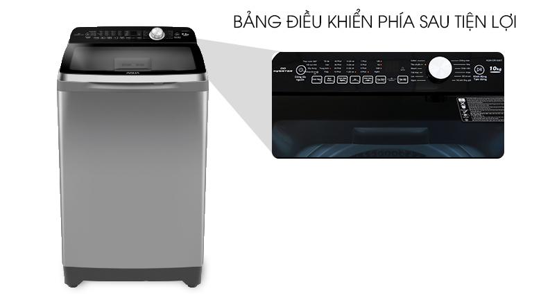 Máy giặt Aqua 10 Kg AQW-FR100ET S Mới 2020- thiet ke