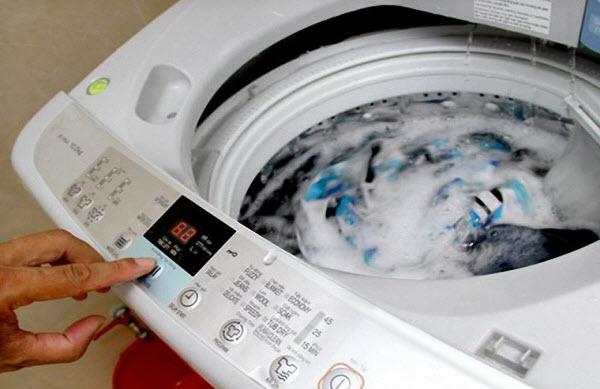 Loi của máy giặt ekectrolux