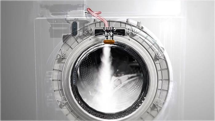 chế độ giặt hơi nước EWF10844