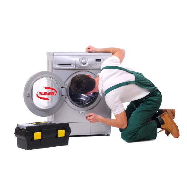 Nước chảy ra từ bên trong may giặt