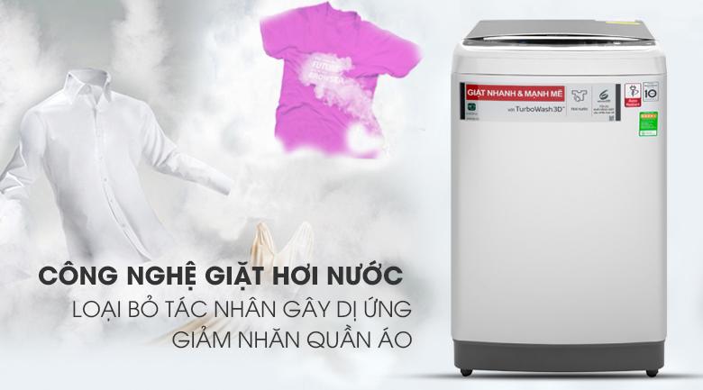Máy giặt LG Inverter 11 kg TH2111SSAL GIẶT HƠI NƯỚC