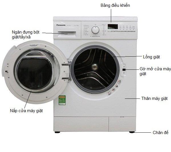 máy giặt panasomíc lồng dứng
