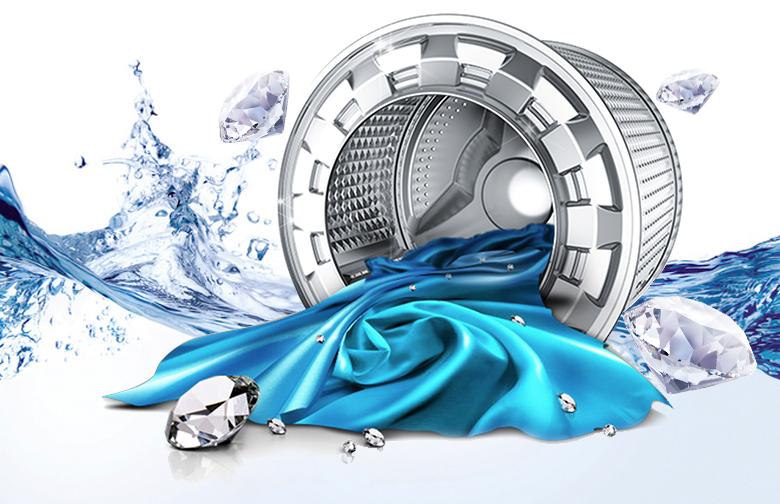 lồng giặt kim cương Máy giặt Samsung 8 kg WW80H5290EW/SV