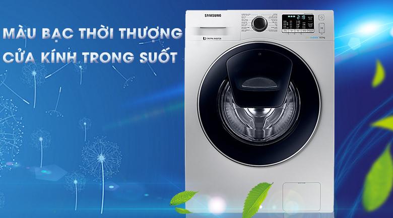 thiết kế Máy giặt Samsung AddWash Inverter 8 kg WW80K5410US/SV