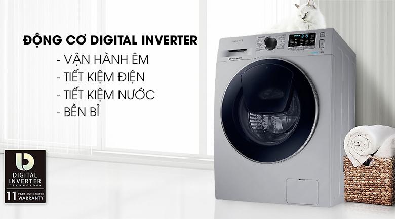 công nghệ inverter Máy giặt Samsung Inverter 7.5 kg WW75K5210US/SV