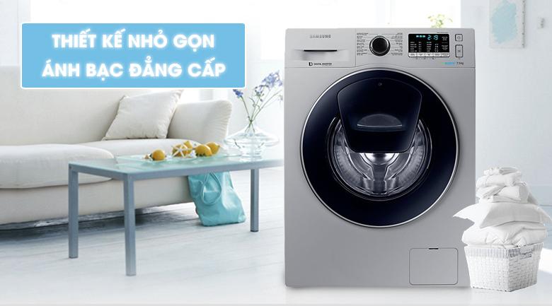 thiết kế Máy giặt Samsung Inverter 7.5 kg WW75K5210US/SV