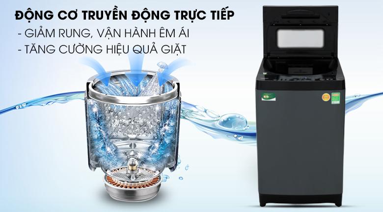 Máy giặt Toshiba Inverter 13 kgAW-DUJ1400GV động cơ truyền động trực tiếp