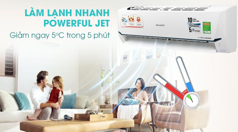 may-lanh-sharp-inverter-1-hp-ah-x9xew-lam-lanh-nhanh-powerful-jet