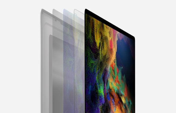 Macbook Pro 16.0 inch 512GB Silver MVVL2SA/A - màn hình