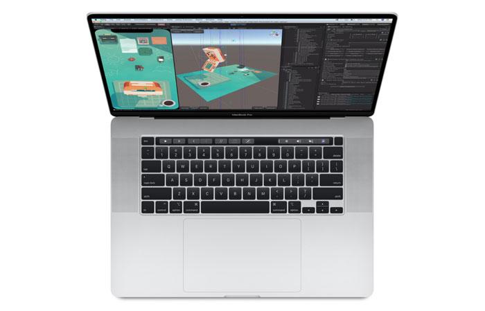 Macbook Pro 16.0 inch 512GB Silver MVVL2SA/A- bàn phím Magic key