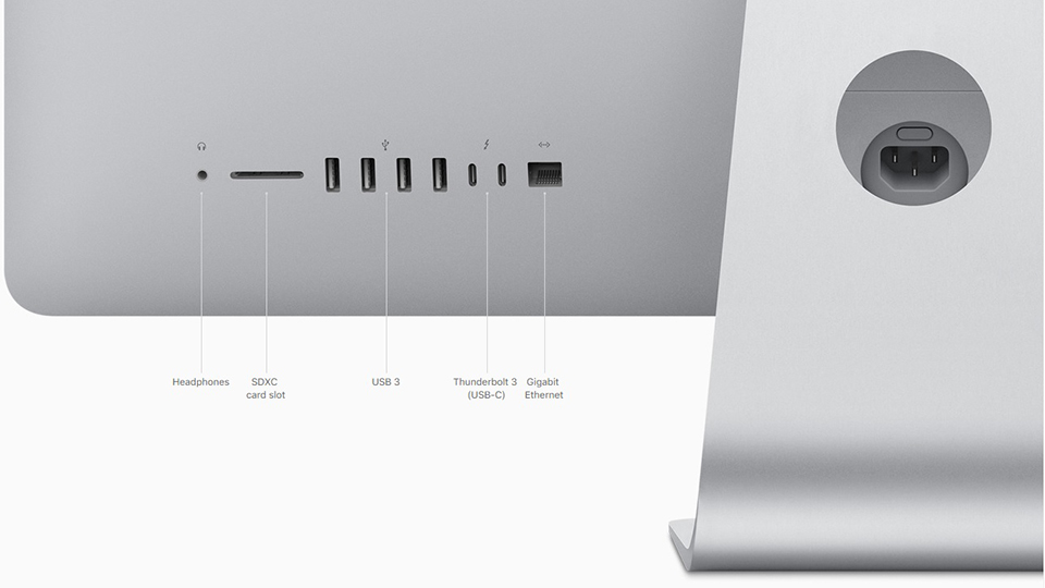 cổng kết nối imac