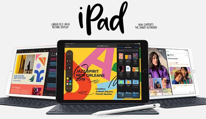 màn hình ipad-102-inch-wifi-32gb-2019-gold-mw762zaa