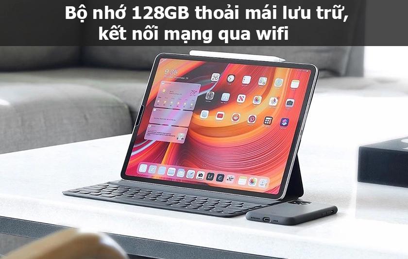 Kết nối iPad Pro 11 Wifi 128GB Silver MY252ZA/A