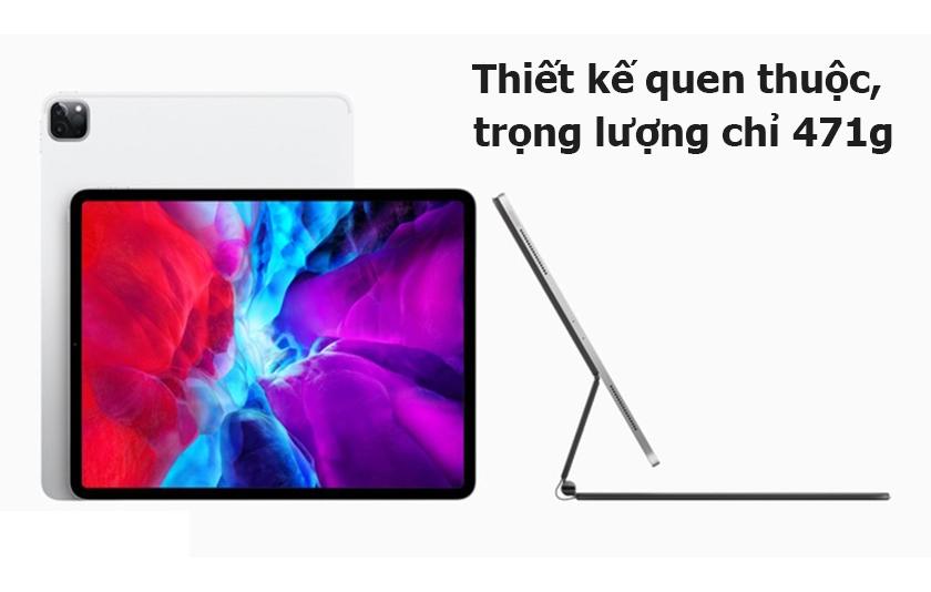 Thiết kế iPad Pro 11 Wifi 128GB Silver MY252ZA/A