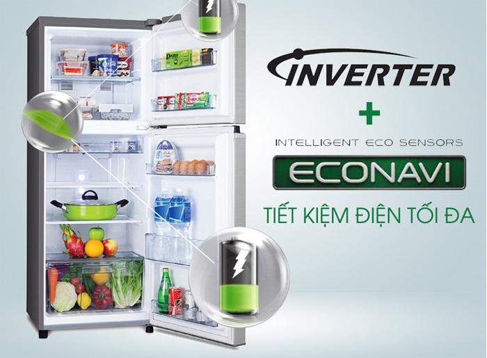 Ưu điểm của tủ lạnh inverter so với tủ lạnh thường