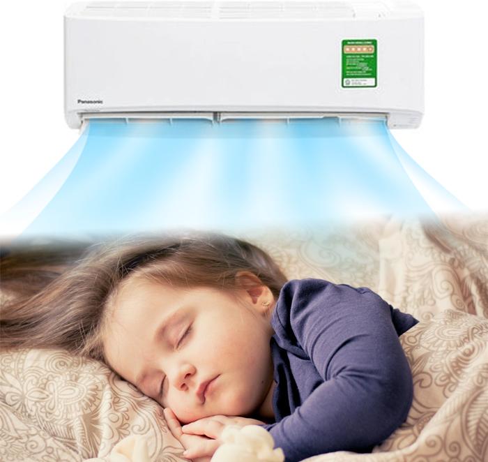 không nhiệt độ quá lạnh khi ngủ