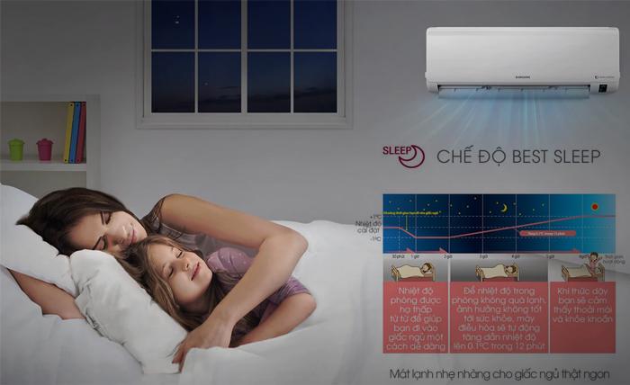 chọn máy lạnh nào cho phòng ngủ