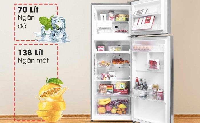 Lựa chọn tủ lạnh có dung tích phù hợp với thành viên trong gia đình