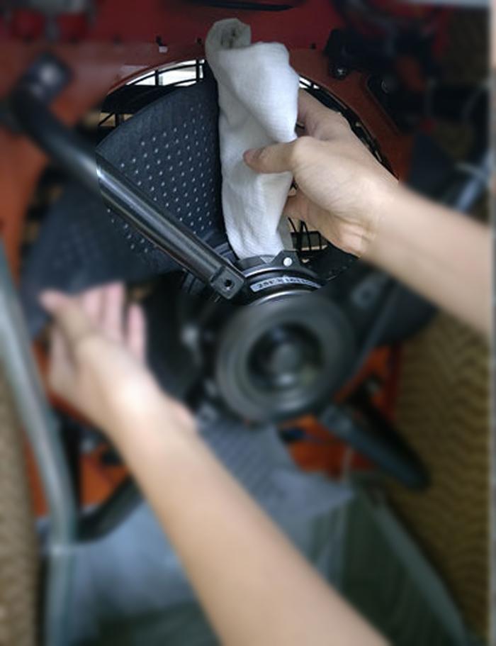 cánh quạt của máy làm mát