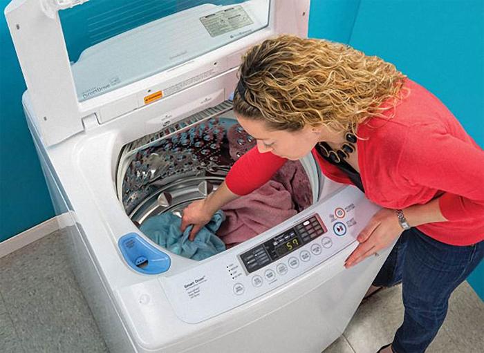 máy giặt rung mạnh