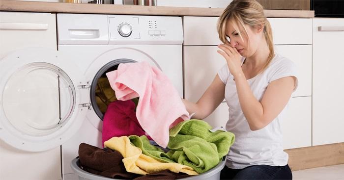 Ngăn ngừa mùi hôi bên trong máy giặt