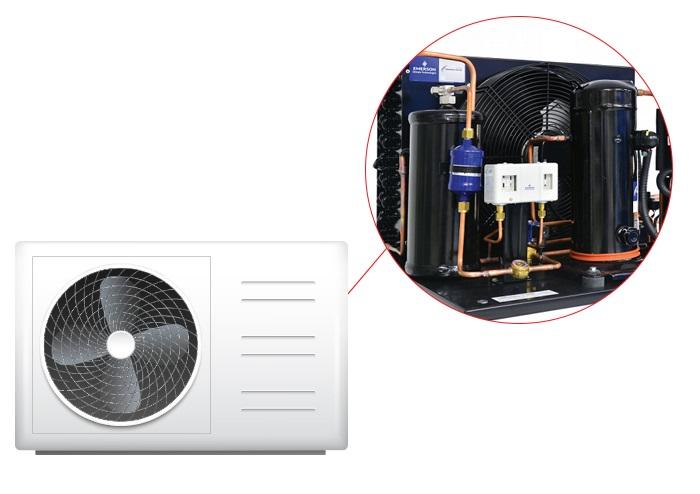 block dàn nóng máy lạnh