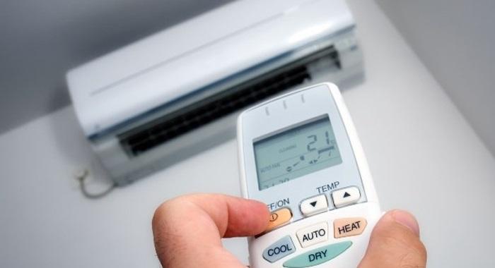 chọn sai chế độ hoạt động của máy lạnh