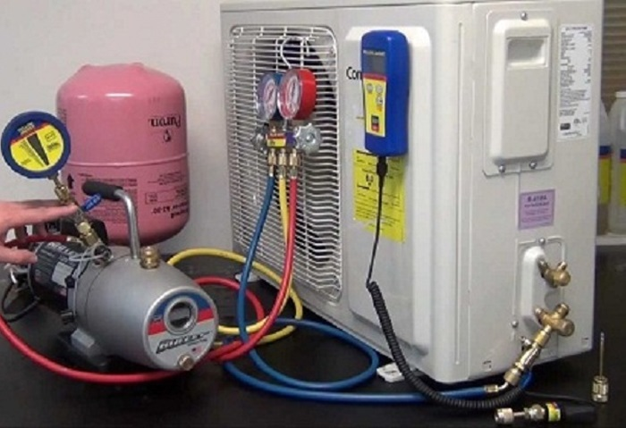 thay gas máy lạnh