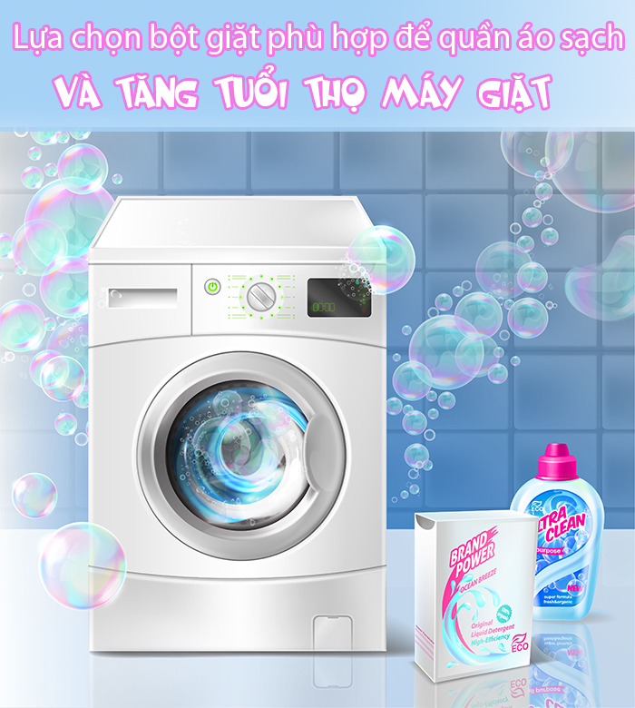 những thói quen làm ảnh hưởng tuổi thọ máy giặt