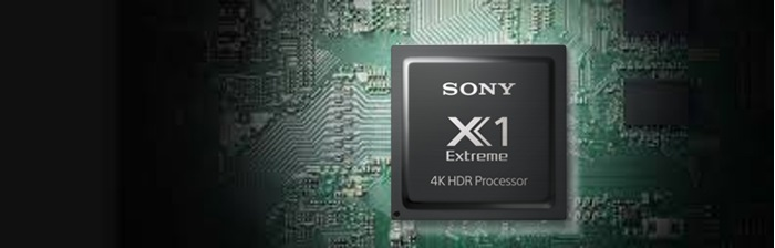 4K HDR Processor X1™ Extreme