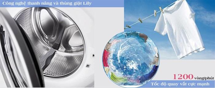 Công nghệ giặt trên máy giặt Electrolux