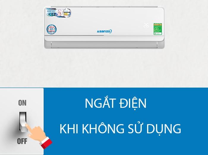 Cách dùng máy lạnh Asanzo