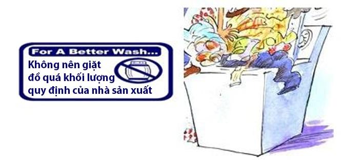 máy giặt lg rung lắc mạnh