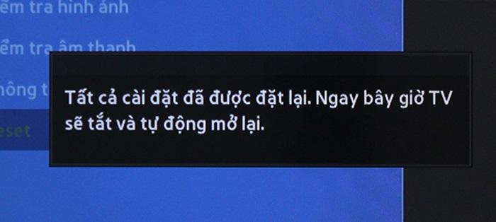 Tivi Samsung đang xem tự nhiên tắt