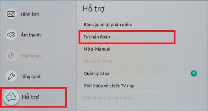 tivi samsung không kết nối được wifi
