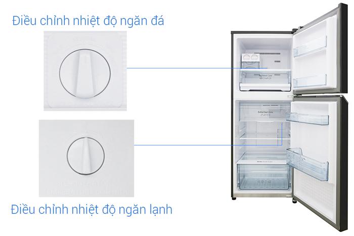 điều chỉnh nhiệt độ tủ lạnh panasonic