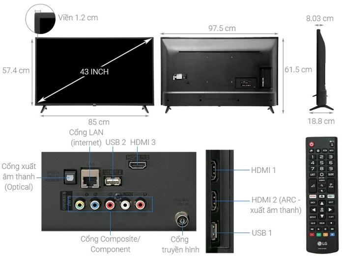 LG 43UK6200PTA