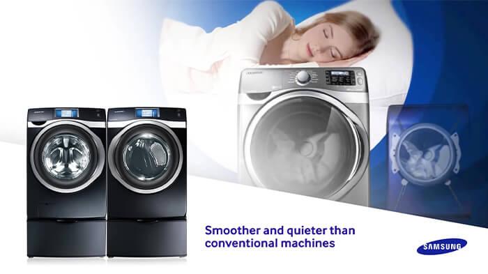 Khám phá các công nghệ trên máy giặt Samsung