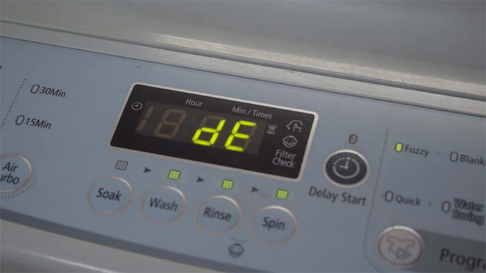 Các lỗi thường gặp trên máy giặt Samsung