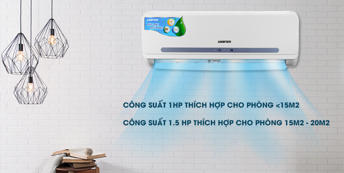 cách sử dụng máy lạnh Asanzo hiệu quả tiết kiệm điện nhất