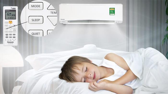 Tìm hiểu chế độ ngủ đêm trên máy lạnh